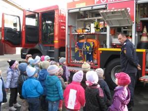 in vizita la Pompieri